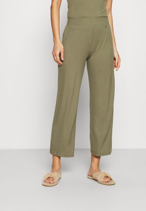 CLIMATE CONTROL CROPPED TROUSERS - Pyjama bottoms - sage green