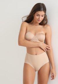 Calvin Klein Underwear - HIGH WAIST HIPSTER - Slip - beige - 1