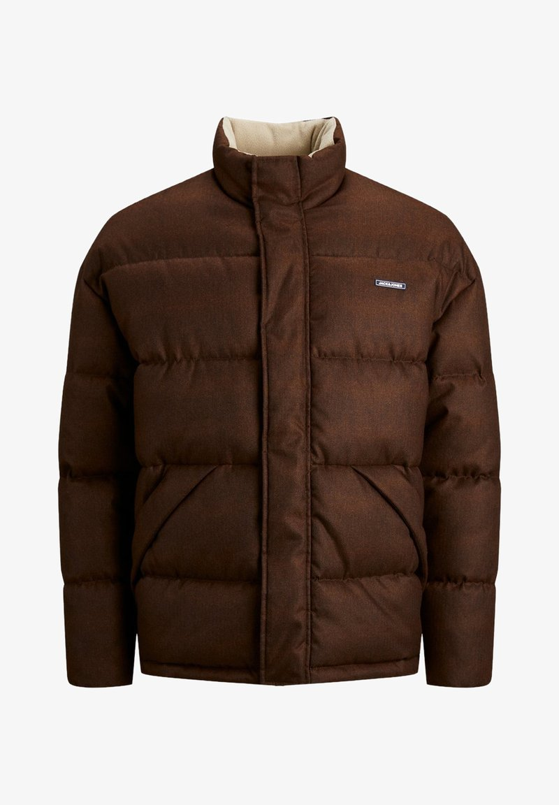 Jack & Jones JORFRANK PUFFER JACKET - Winterjacke - brown stone/hellbraun xCZAbN