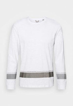 JCOLEX TEE CREW NECK - Long sleeved top - white