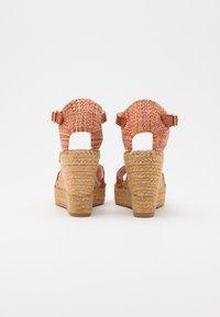 Vidorreta - High heeled sandals - arcilla - 3
