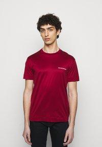 Emporio Armani - Basic T-shirt - bordeaux - 0