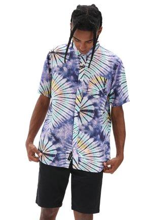 Skjorta - new age purple tie dye