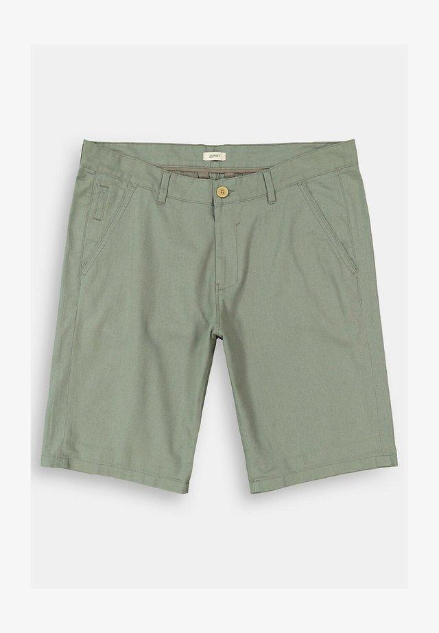 Shorts - dusty green