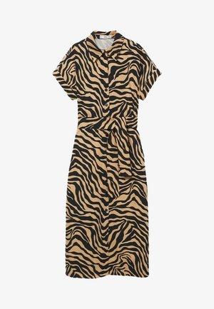 PATAGON - Robe chemise - halvbrun