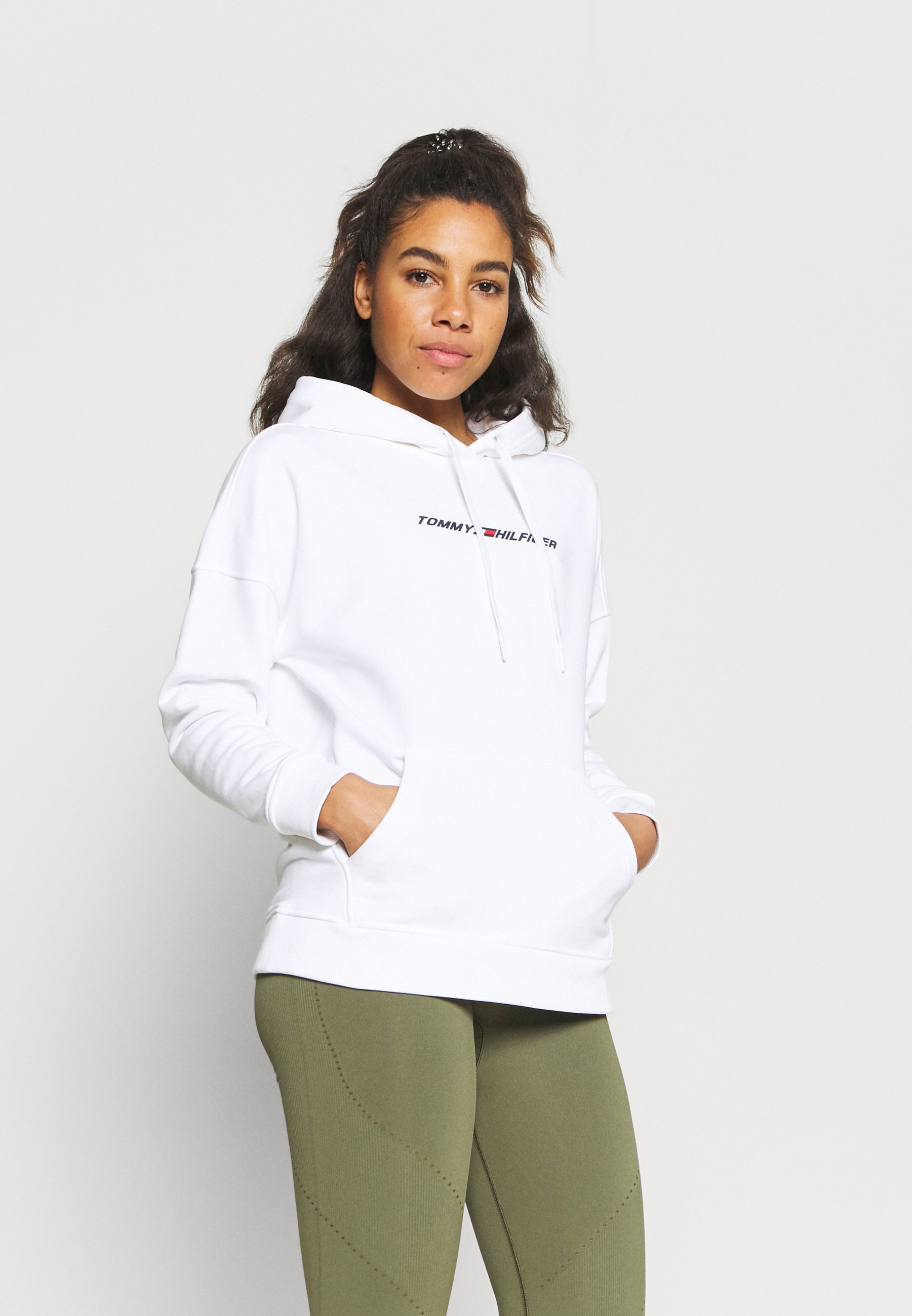 Donna RELAXED GRAPHIC HOODIE - Felpa