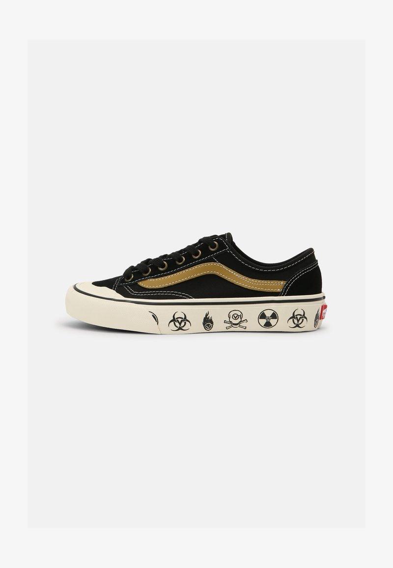 Vans - STYLE 36 DECON UNISEX - Skate shoes - black/antique white