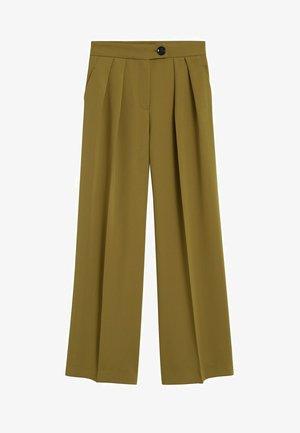 SIMO-I - Spodnie materiałowe - kaki