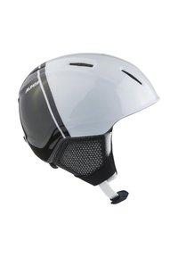 Alpina - Helmet - black-white - 3