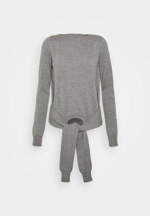 Svetr - melange grey