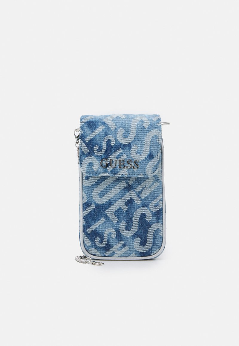 Guess - MANHATTAN CHIT CHAT - Across body bag - blue