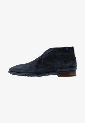GOMMI - Volnočasové šněrovací boty - drak blue