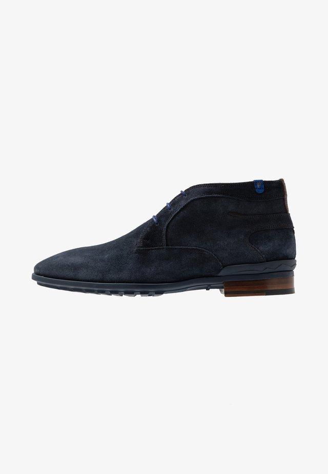 GOMMI - Chaussures à lacets - drak blue