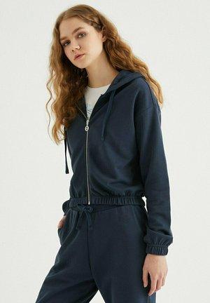 Zip-up sweatshirt - blue nights