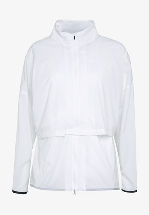 REPEL ACE JACKET FULL ZIP 2-IN-1 - Giacca sportiva - white/black