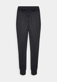 Nike Sportswear - REPEAT - Tracksuit bottoms - black/white - 7