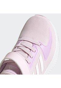 adidas Performance - RUNFALCON 2.0 UNISEX - Neutrální běžecké boty - clear pink/ftwr white/clear lilac - 10
