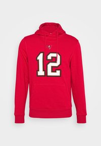 Fanatics - NFL TOM BRADY TAMPA BAY BUCCANEERS ICONIC NAME & NUMBER GRAPHIC  - Hoodie - game red - 4