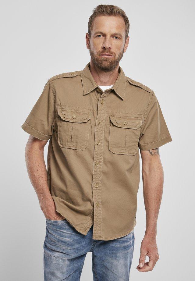 VINTAGE - Overhemd - camel