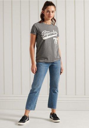 COLLEGIATE CALI STATE - Print T-shirt - dark marl