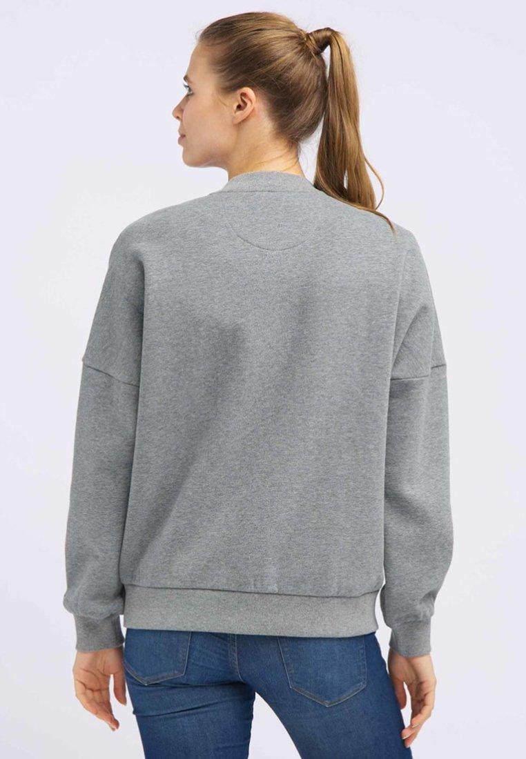 DreiMaster Strickjacke mottled grey/graumeliert