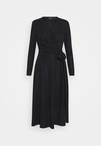 DERBY METALLIC DRESS - Jumper dress - black