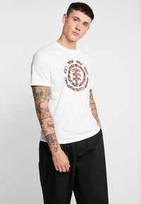 Element - MULTI ICON - Print T-shirt - optic white - 0