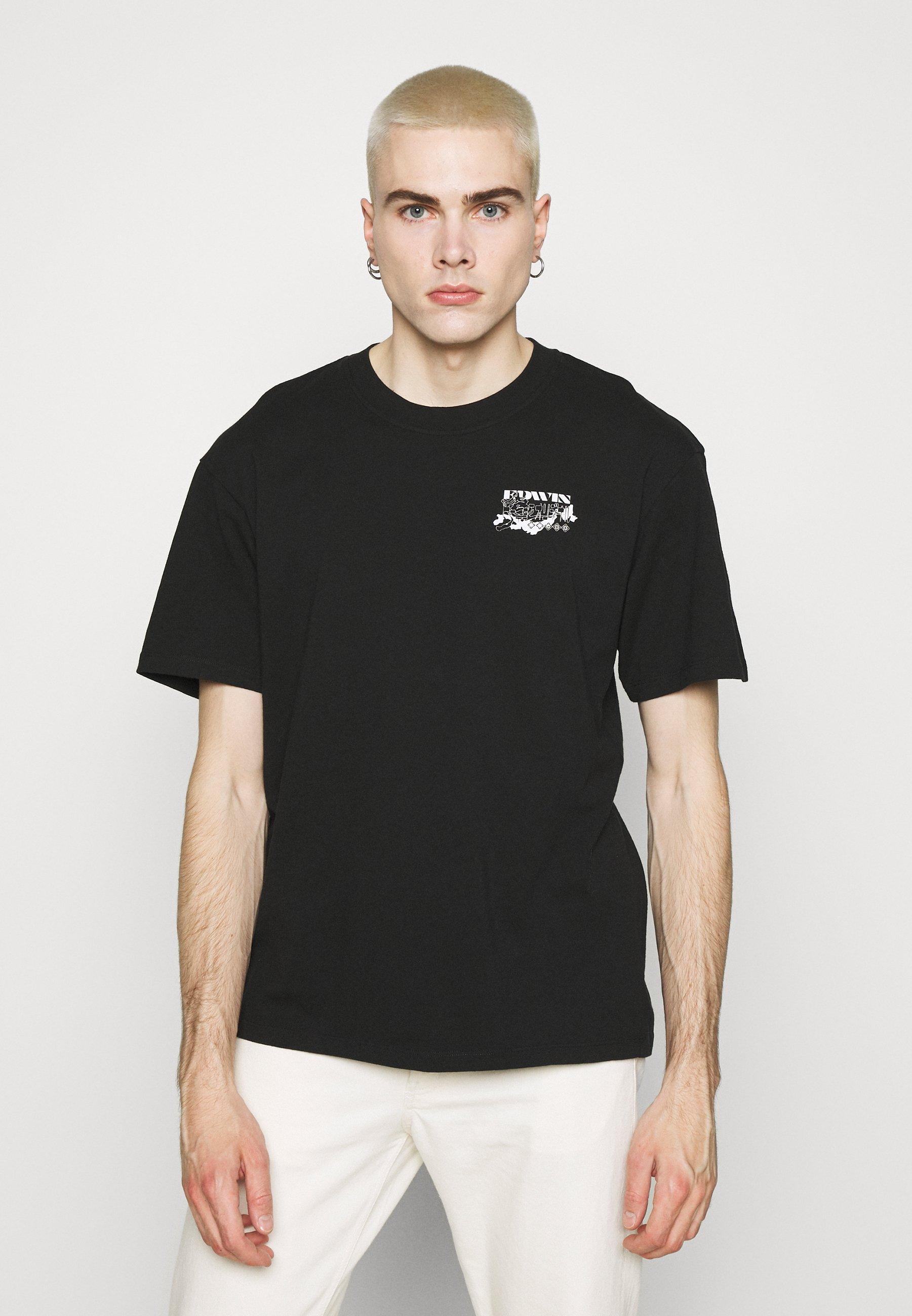 Women LOGO MAP CHEST - Print T-shirt