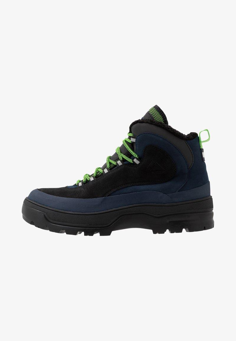 Tommy Jeans - HILFIGER EXPEDITION BOOT - Snørestøvletter - black iris