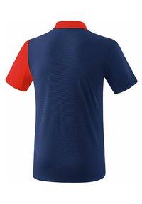Erima - 5-C POLOSHIRT KINDER - Polo shirt - navy/red/white - 1