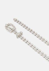 Pieces - ADOLINA SLIM BELT - Belt - silver clear - 1