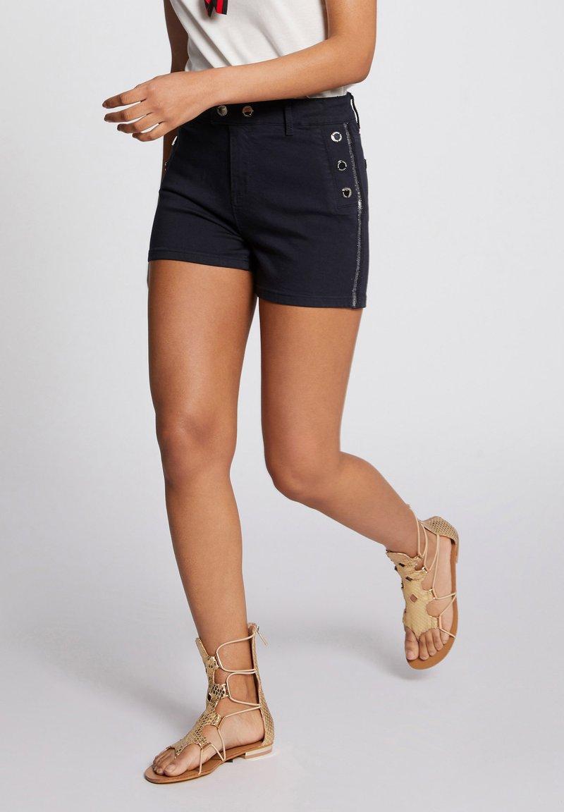 Morgan - Denim shorts - dark blue