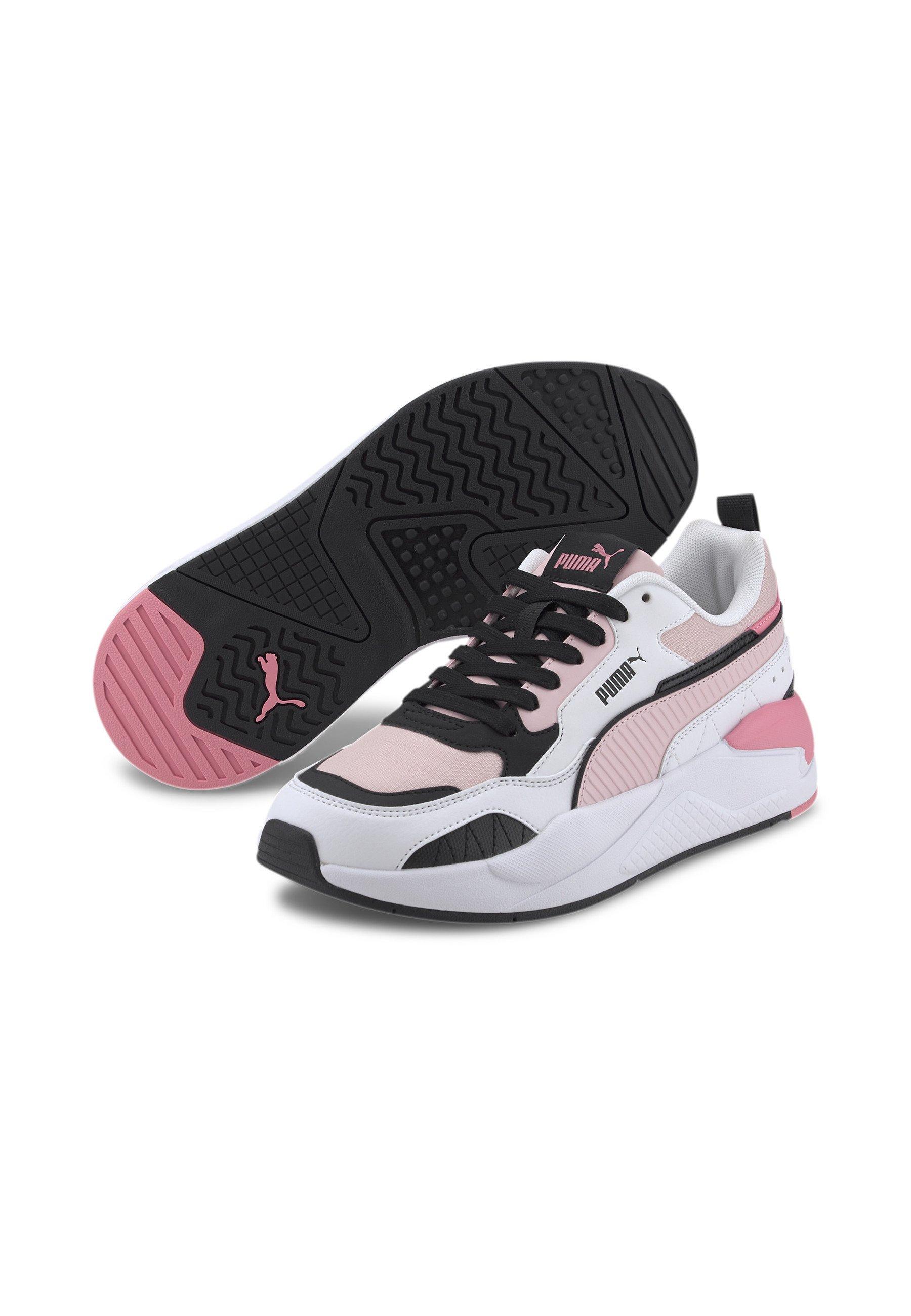 Puma - Sneakers basse - peachskin- wht-blk-sal rose