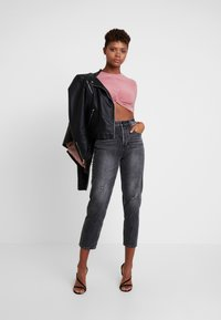 Club L London - Blouse - dusky pink - 1