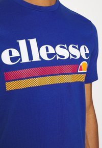 Ellesse - TRISCIA TEE - T-shirt z nadrukiem - blue - 5