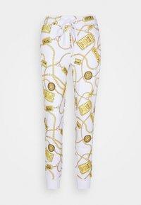 Versace Jeans Couture - Spodnie treningowe - white - 8
