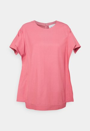 ORIGAMI SLEEVES - Basic T-shirt - rosa pink