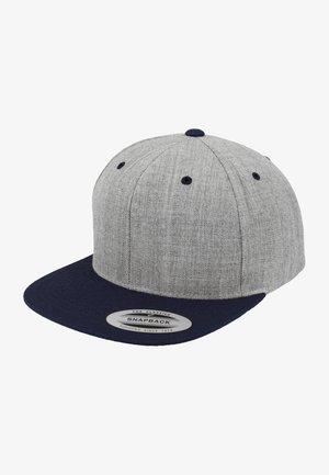 CLASSIC SNAPBACK 2-TONE - Cap - light grey/dark blue