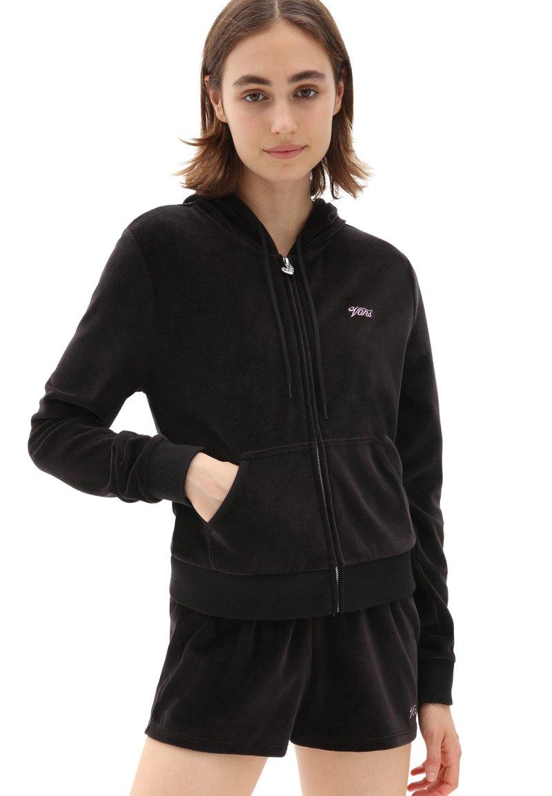Vans - WM TOGETHER FOREVER HOODIE - Zip-up hoodie - black