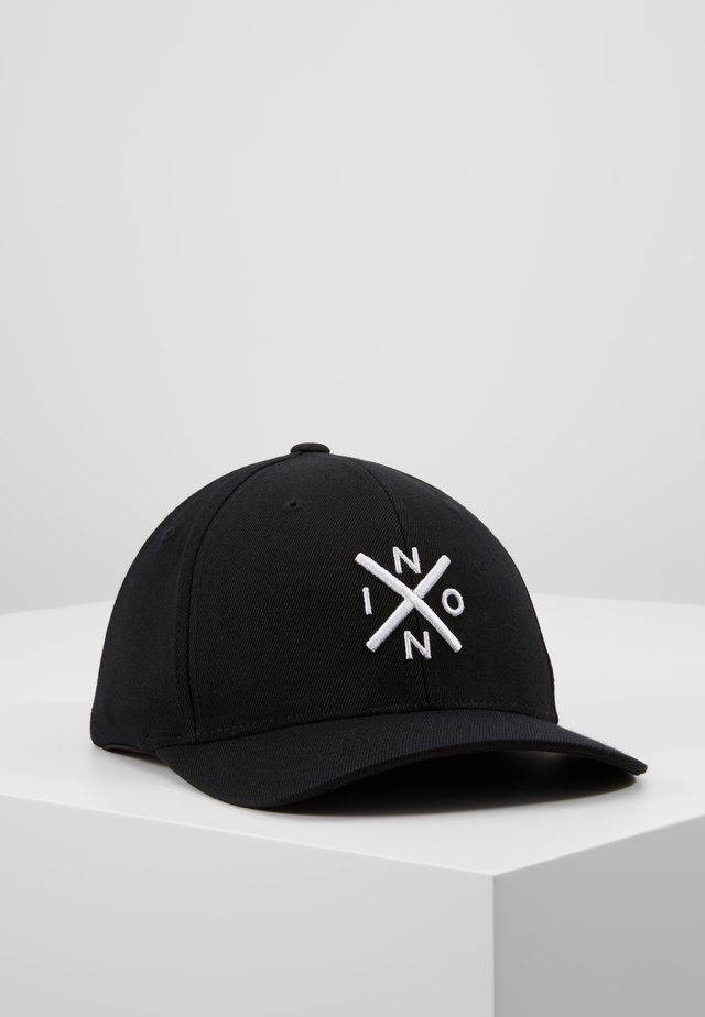 EXCHANGE  - Gorra - black/white