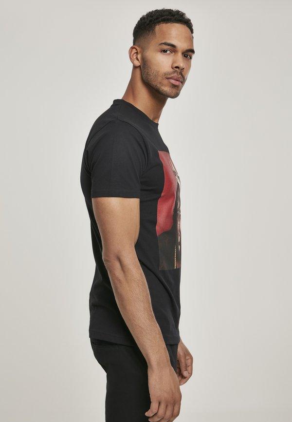 Mister Tee BIG CROWN - T-shirt z nadrukiem - black/czarny Odzież Męska WWSP