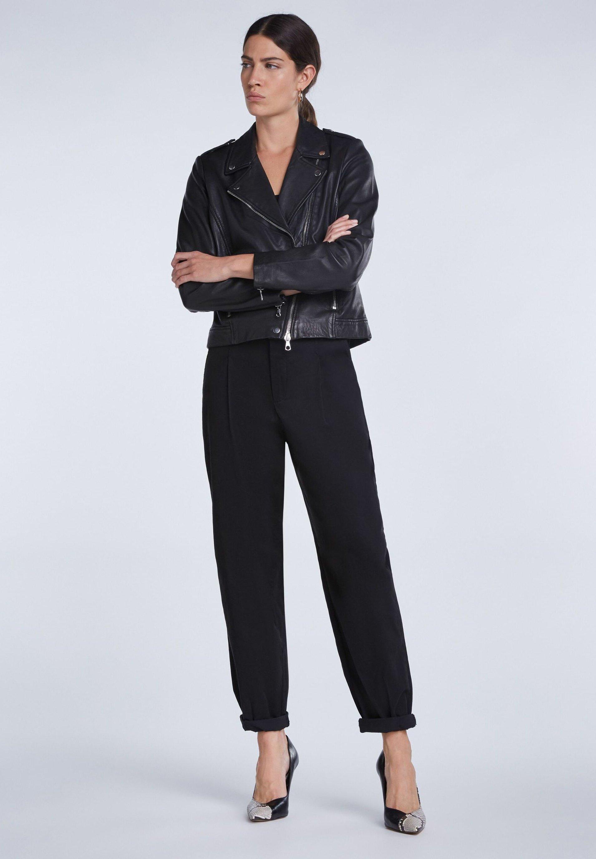 SET Pantalon classique - black 9JTsRz0D