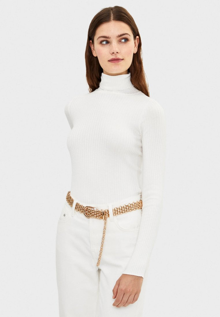 Bershka - Sweter - beige