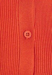 Gina Tricot - TINA - Cardigan - orange rust - 2