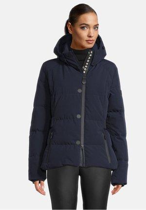 MIT ABNEHMBARER - Down jacket - dunkelblau