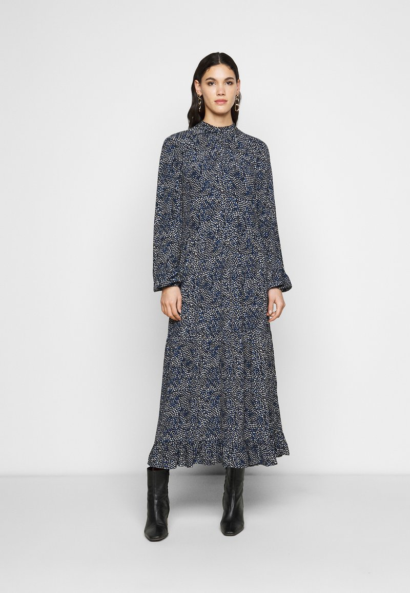 YAS Tall - YASSOFFI LONG DRESS - Kjole - twilight blue