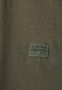 G-Star - LASH FEM LOOSE - Basic T-shirt - combat - 5