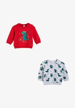 SET - Sweatshirt - red