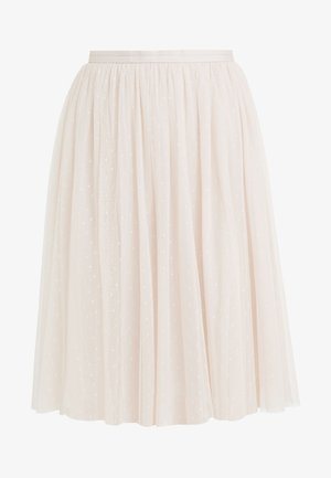KISSES TULLE MIDI SKIRT - Jupe trapèze - french rose