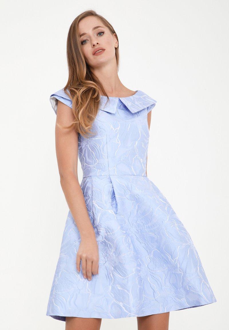 Madam-T - LUDOVIKA - Day dress - hellblau